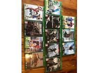 Xbox One games bundle x 12