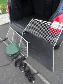 Dog Guard and Divider /Cage for Vauxhall Zafira B Model