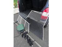 Dog Guard and Divider /Cage for Vauxhall Zafira B Model
