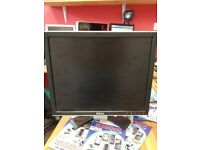Dell 1707fpt monitor Black 17 inch good condition