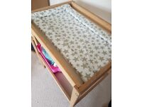 Nappy changing table ikea