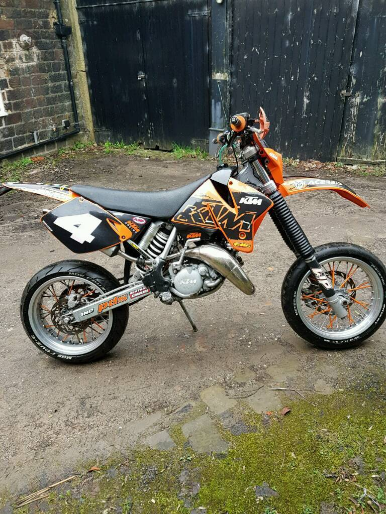 ktm exc 125 road legal supermoto enduro not sx yz in. Black Bedroom Furniture Sets. Home Design Ideas