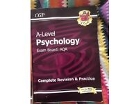 Complete a level revision guides aqa biology chemistry and psycology