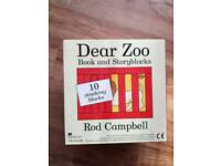 Kids Dear Zoo Book & Story blocks BNIB