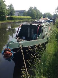 QUICK SALE UPDATED PRICE Narrow Boat / Canal Boat / Project