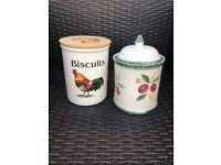2 lovely jars