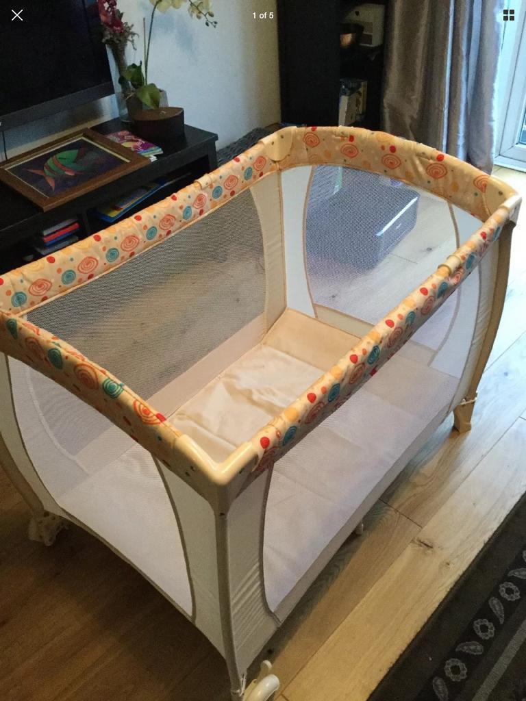 Argos Baby Start Travel Cot In Horsham West Sussex
