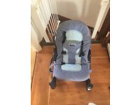 Blue baby chair