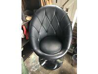 Black Office Tub Chair