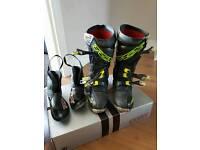 Tcx motocross boots Size 8, US 9