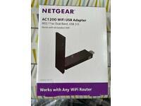 NETGEAR AC1200 WiFi USB Adaptor