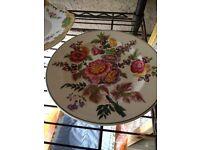 Vintage plates - sandwich / cake / serving plates