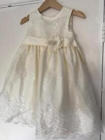 Flower girl / christening outfit aged 2