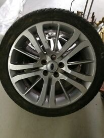 "GENUINE 20"" RANGE ROVER/ LAND ROVER ALLOYS (WILL ALSO DO VW TRANSPORTER)"