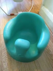 Bumbo baby seat, turquoise, good condition