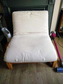Futon Company Single Futon Chair / Sofa Bed