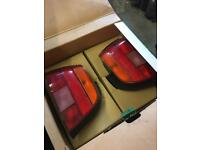Bmw E39 5 Series Pair Of 2 Taillights