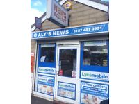 Bradford - Aly's News Newsagents Business for Sale - West Yorkshire