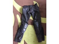 IXS leather trousers