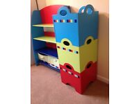ELC Bookcase & Stacking Storage Boxes