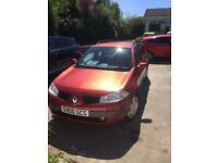 Renault Megane estate 55 plate