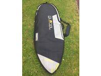 """Global 5ft 10"""" surfboard bag"""