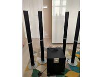 Pioneer S-SP410 Surround Speaker System 5.0 Silver