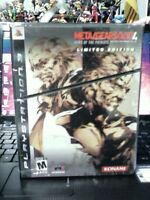 Metal Gear Solid 4 Guns of the Patriots Limited Edition