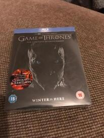 Game of thrones season 7 blu ray set.