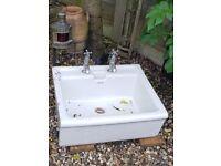 Large sink/garden planter/garden feature.