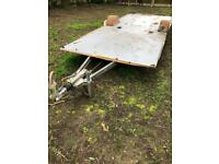 Alko galvanised caravan chassis / trailer with AKS 3004/3004 stabilising hitch