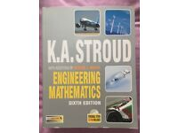 Engineering Mathematics 6th Edition textbook by K. A. Stroud