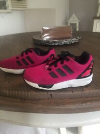 Girls Adidas Pink and Black Torsion