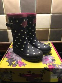 Joules wellies size 10