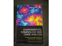 Environmental criminology and crim analysis. Cambridge
