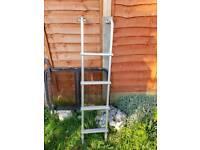 Aluminium caravan/camper ladder