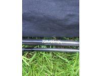Carp rod and reel