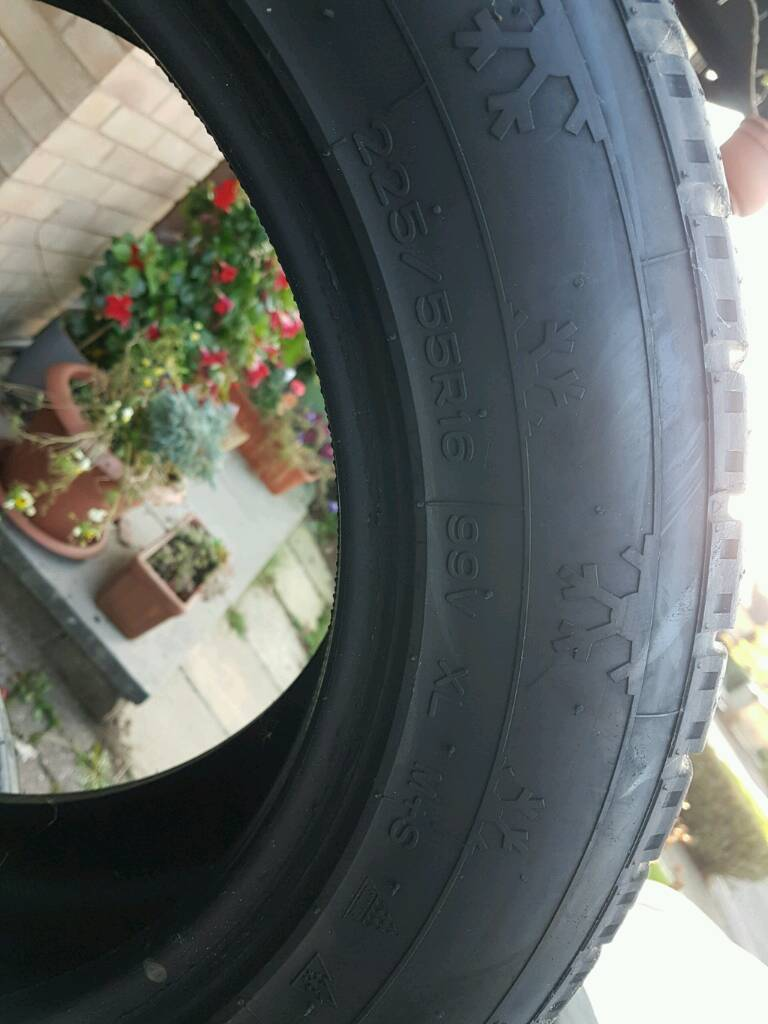 Winter tyres 225/55 R16