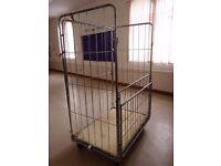 For sale: roll cage suitable for storage and movement of goods