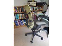 Ergonomic, adjustable, high-spec computer chair