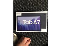 Samsung galaxy tab a7 4G 32gb