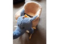 Elephant rocker with sounds