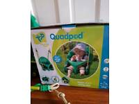 Quadpod 4 in 1 seat swing
