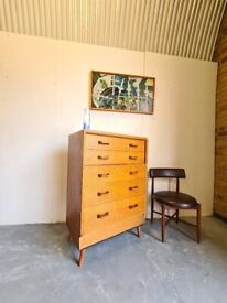 Mid Century 'Brandon' Chest of Drawers by G Plan