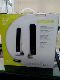 Otone 2.0 Multimedia Speaker System.