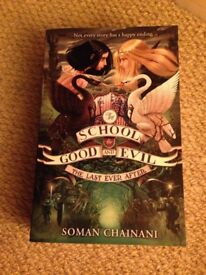 First 3 school for good and evil books by Soman Chainani