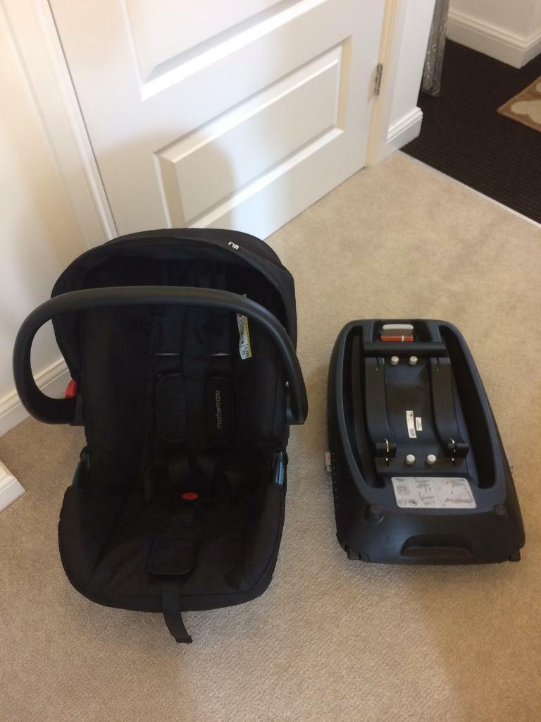 Mothercare Roam 0 Baby Car Seat Amp Isofix Base In