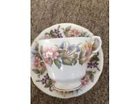 "Vintage tea cups and saucers ""paragon"""