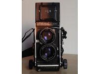 Mamiya C330 with 80mm 2.8 lens - 120mm TLR