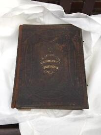 Antique Browns Self Interpreting Family Bible